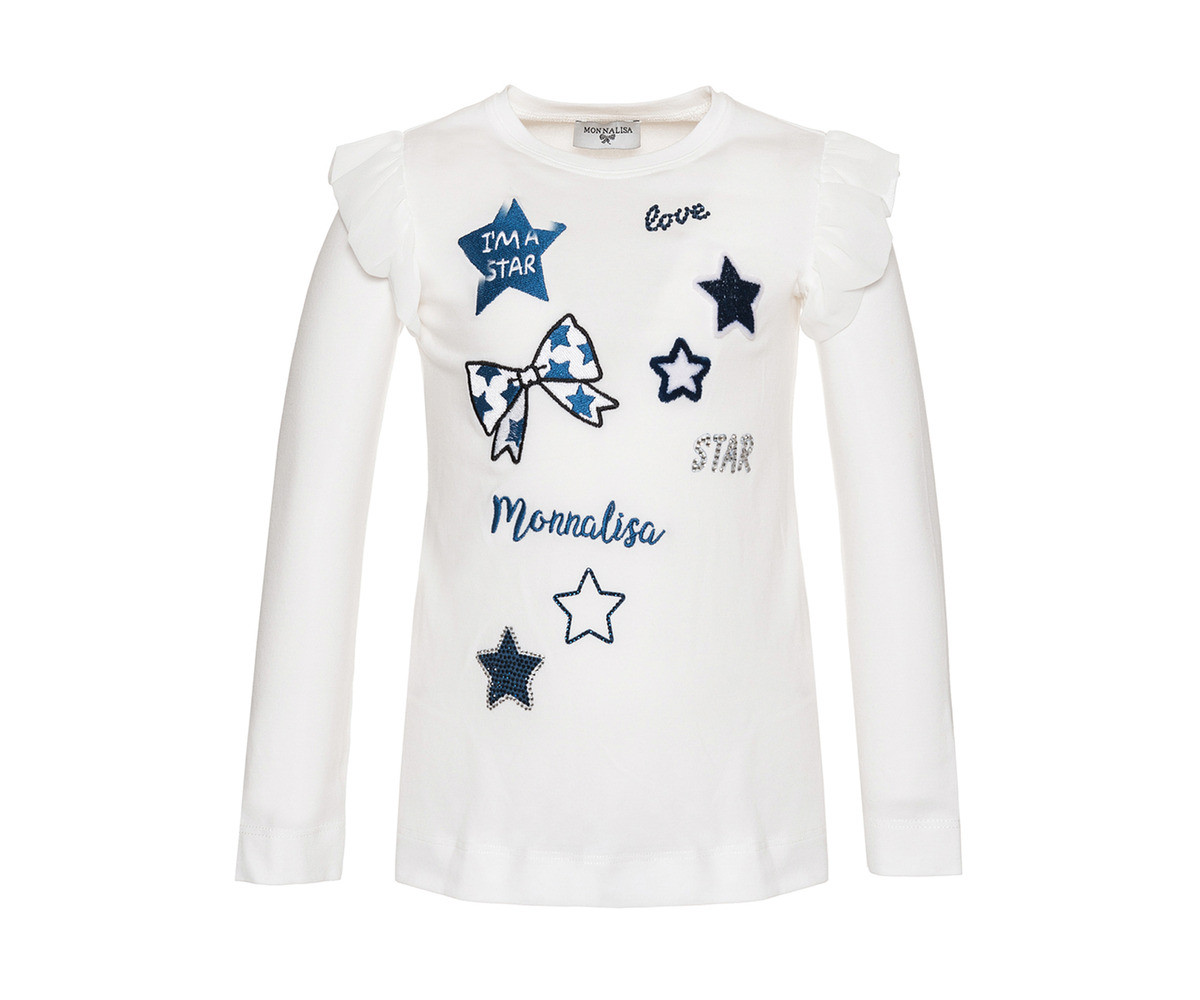Тениска Monnalisa - 194633PY-4034-0156