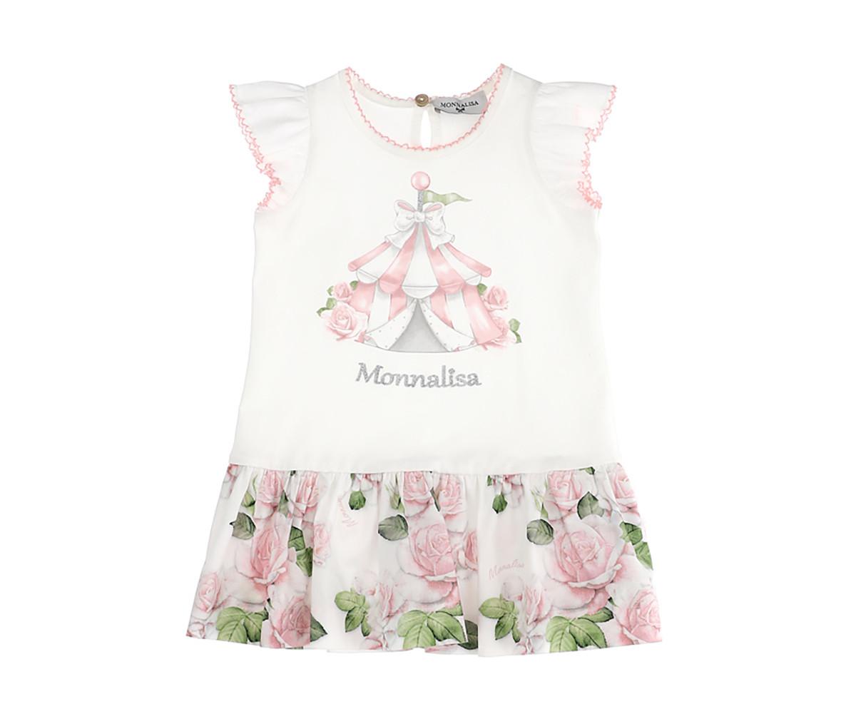 Детска рокля Monnalisa 315904SG-5201-0191