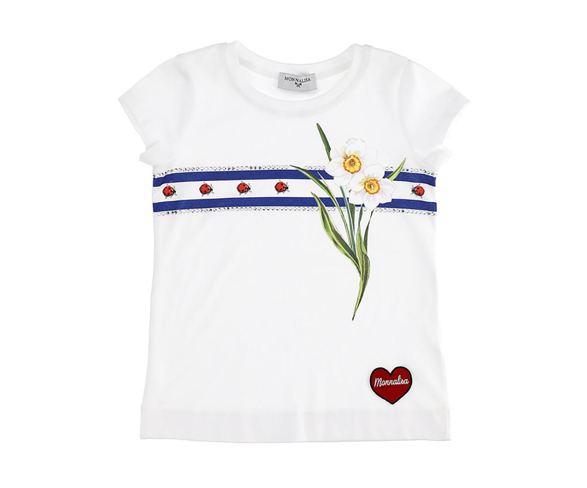 Детска блуза Monnalisa 195601S2-5000-0099