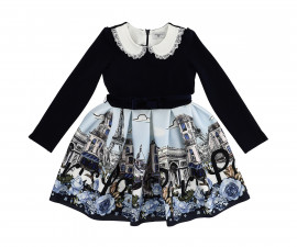 Детска рокля Monnalisa 116904-6658-0156