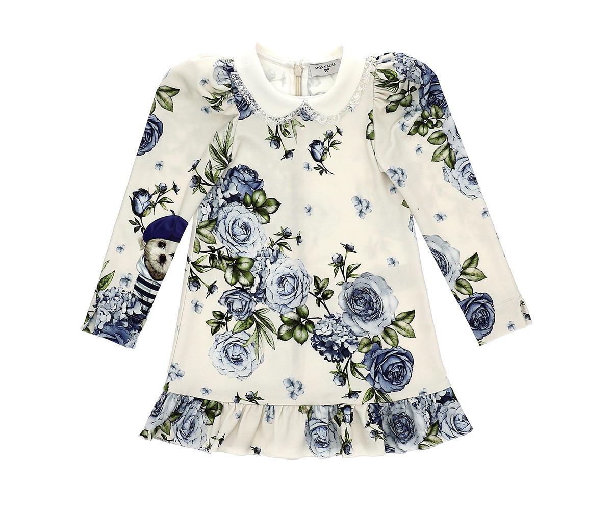 Детска рокля Monnalisa 116906-6654-0256