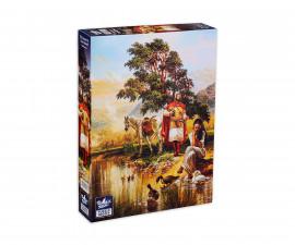 Black Sea Puzzles TYPZ0006497N - пъзел 1000 ел. - Легенда за Цар Самуил
