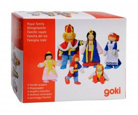 детска играчка гъвкави кукли Кралско семейство Goki