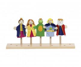 детска играчка кукли за пръсти Жабокът принц Goki