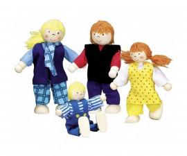 детска играчка гъвкави кукли Младо семейство Goki