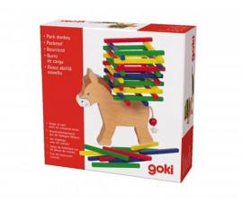 детска играчка балансна игра Магаре Goki