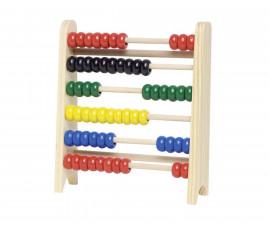 детска играчка дървено Сметало (малко) Goki