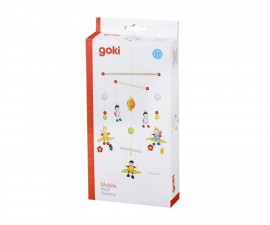 детска играчка висяща декорация за детска стая Пчели и Бръмбарчета Goki