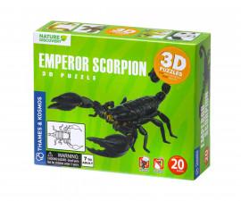 Детски 3D модел на Императорски скорпион Thames&Kosmos