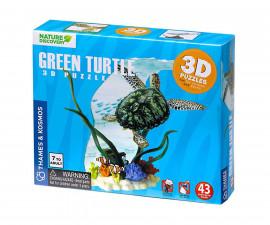 Детски 3D модел на Морска костенурка Диорама Thames&Kosmos