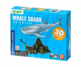 Детски 3D модел на Китова акула Диорама Thames&Kosmos