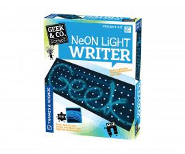 Детски експериментален комплект Неонова светлинна писалка Thames&Kosmos