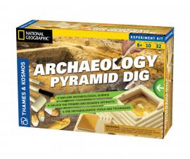Детски експериментален комплект Археология - Разкопки на пирамида Thames&Kosmos