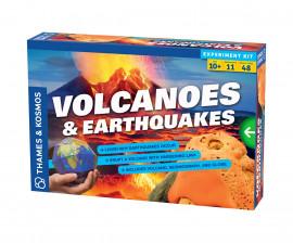 Детски експериментален комплект Вулкани и земетресения Thames&Kosmos