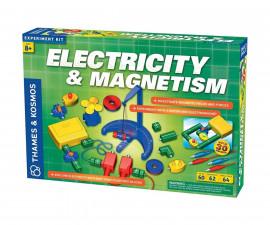 Детски експериментален комплект Електричество и магнетизъм Thames&Kosmos