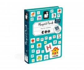 детска магнитна книга Janod - Английската азбука