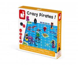 детска стратегическа игра Janod - Луди пирати