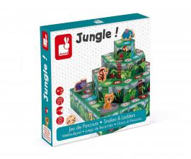 детска състезателна настолна игра Janod - Джунгла