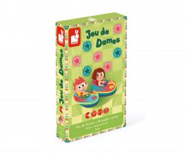 детска настолна игра Janod - Шашки