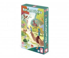 детска дървена играчка с магнити Janod - Тропичен риболов