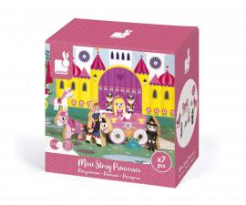 детски дървен комплект Мини история Janod - Принцеси