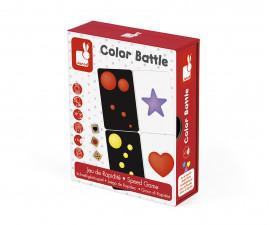 детска състезателна настолна игра Janod - Игра на скорост Цветове