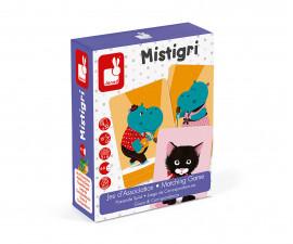 детска настолна игра за съчетаване Janod - Mistigri