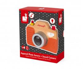 детски дървен фотоапарат със звук Janod