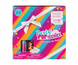 Детска играчка - Комплект кукла PartyPopteenies, с аксесоари