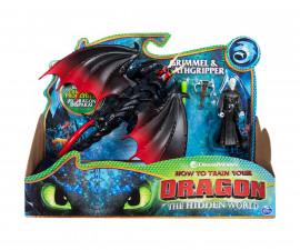 Дракони - фигурки дракон и Викинг