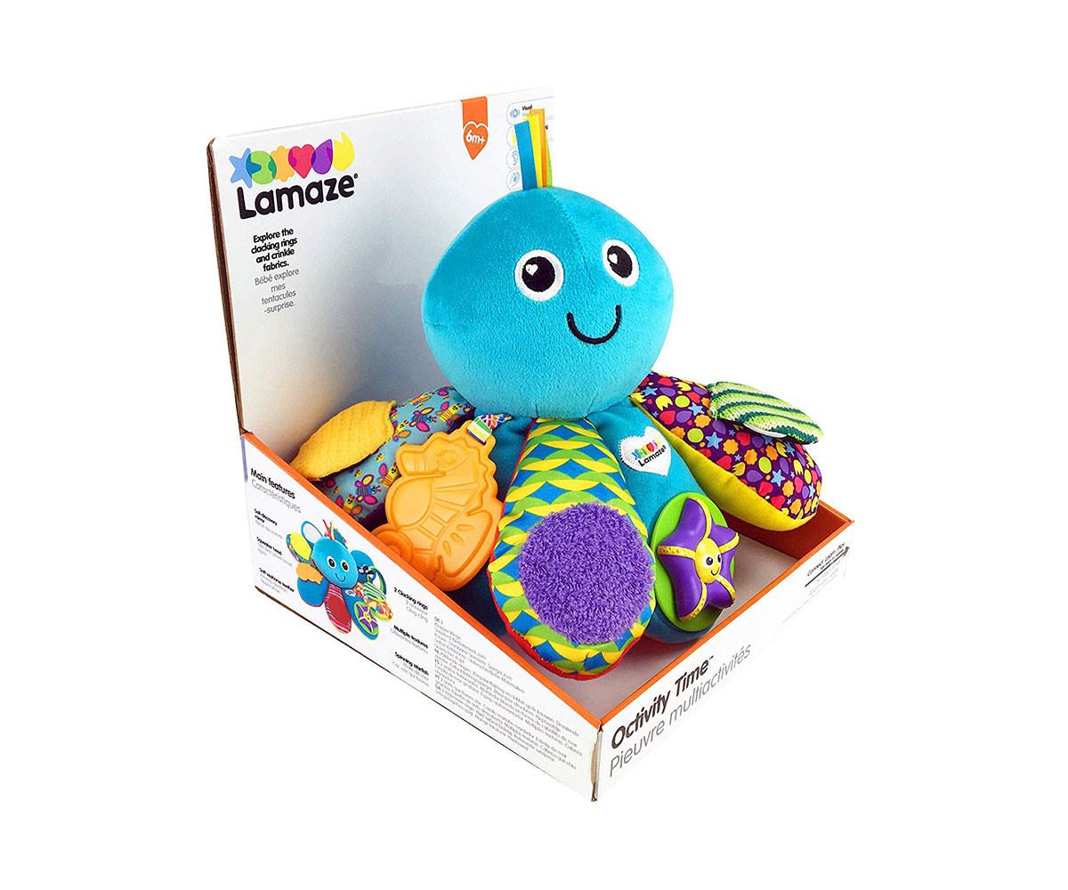 Дрънкалки и чесалки; Меки играчки TOMY L27206