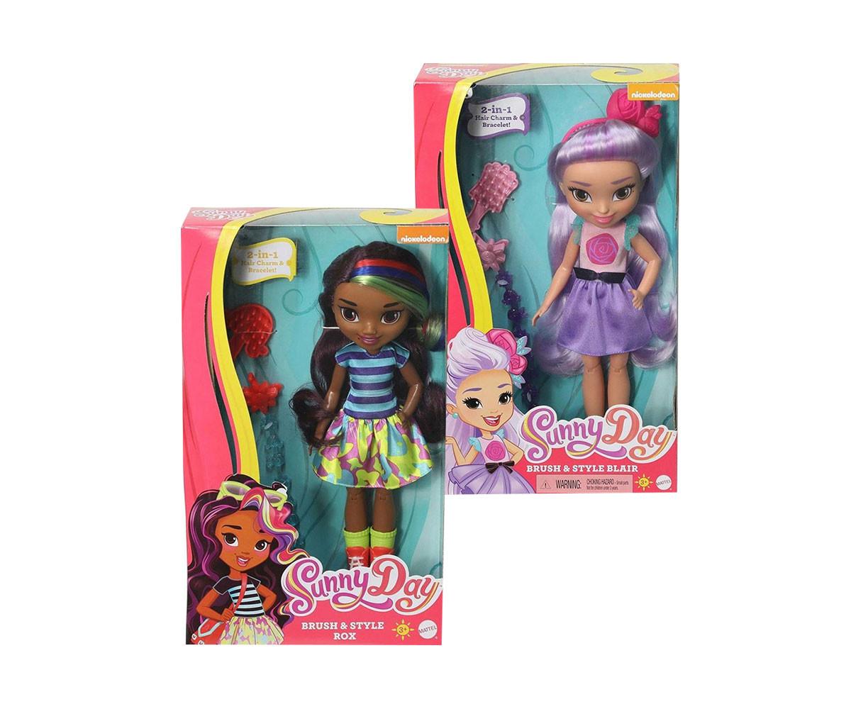 Детска забавна играчка Sunny Day: Кукла с аксесоари, 2 модела
