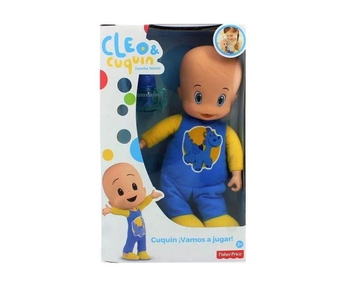 Детска забавна играчка Cleo&Cuquin: Голяма кукла бебе