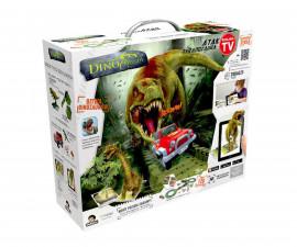 Игрален комплект писта с динозавър, Атаката на тиранозавъра