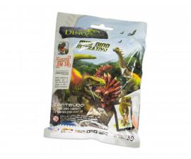 Затворен пакет с динозавър и карти за сканиране