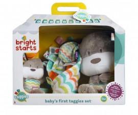 Комплект за игра за бебета Bright starts, плюшени играчки